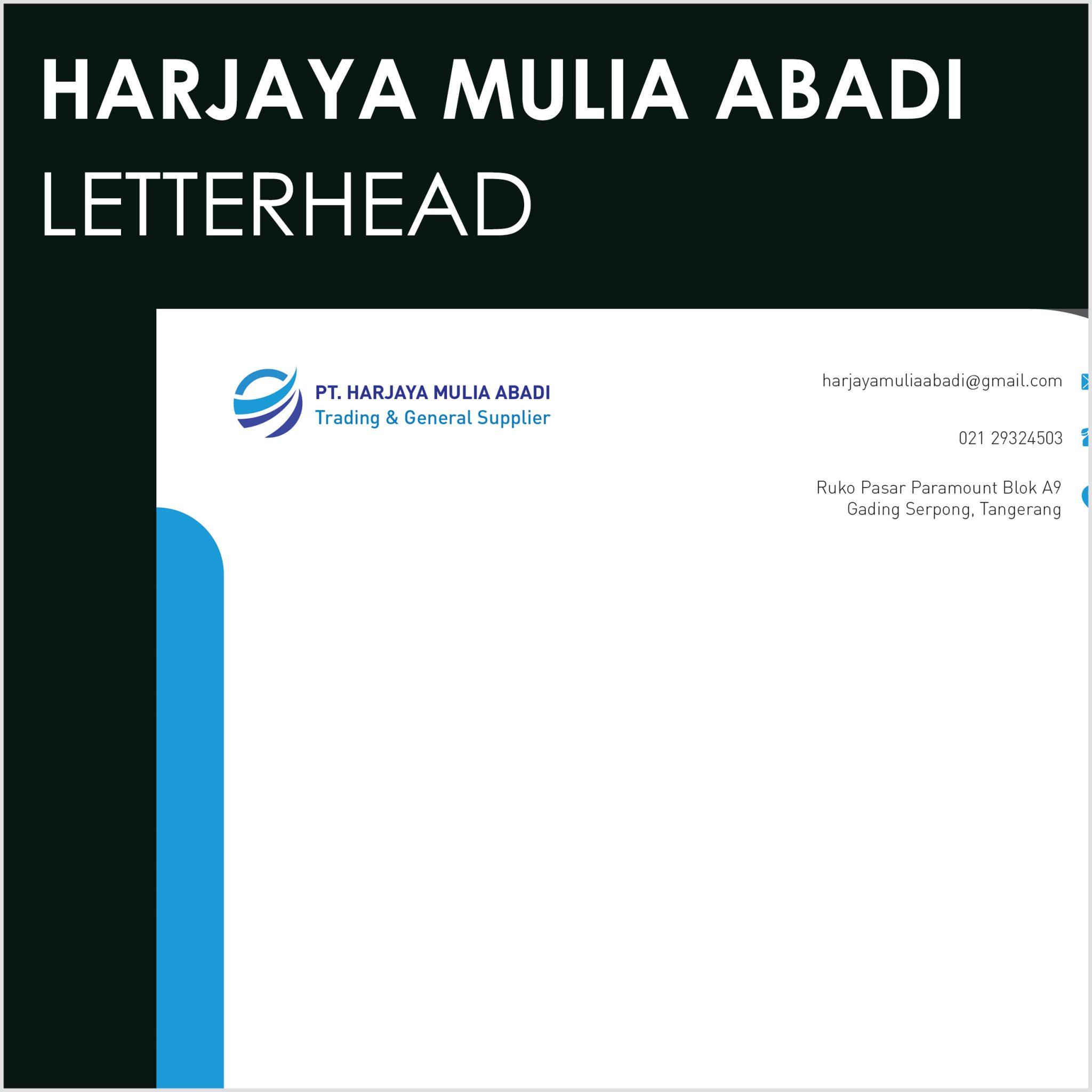 Harjaya Mulia Abadi Letterhead