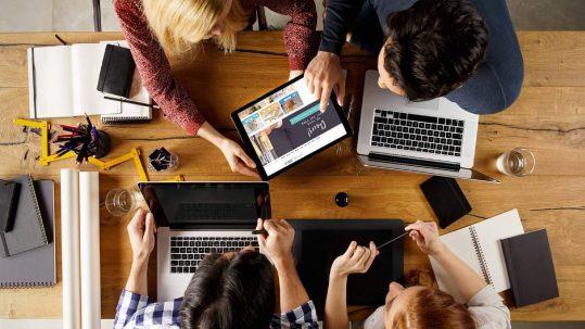 digital agency meeting